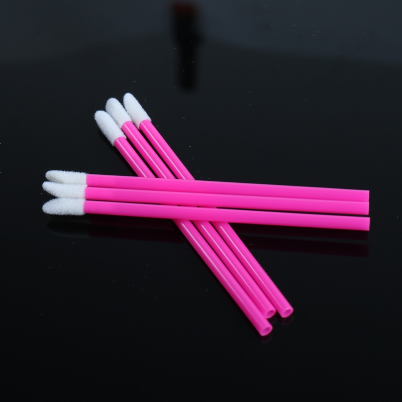 1000pc Disposable make-up brush ,Eyelash brush ,lipstick Lip brush, eyebrow brush makeup tools Eyelash extension