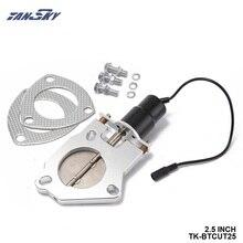 Kit de moteur télécommandé à découpe déchappement électrique 2.5