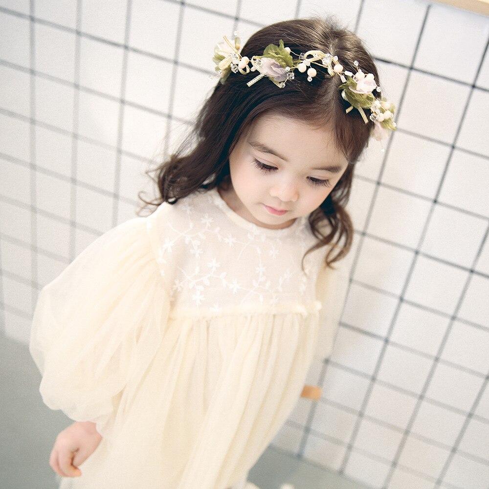 Camadas de Tule Meninas Mori Vestido Com Manga Lanterna Do Vintage Fantasia Infantil Princesa crianças vestidos para meninas roupas de Festa de Casamento