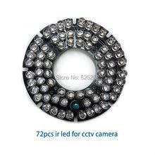 Hohe-qualität 72 stücke IR leds für cctv kamera mit fern
