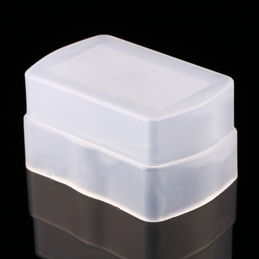 Blanco difusor de Flash Softbox para 580EX YONGNUO YN-560 YN560II YN-560III YN-560IV difusor de Flash para Nikon
