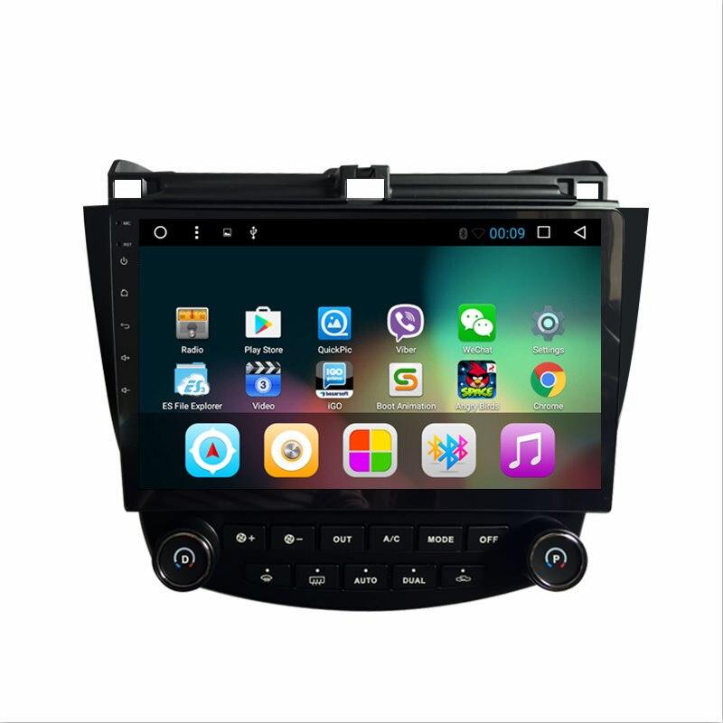 "ChoGath 10,2 ""Octa Core 1/2G RAM DVD del coche Android 8,1 Car Radio GPS reproductor de navegador para accord 7 2003-2007 Multimedia ESTÉREO"