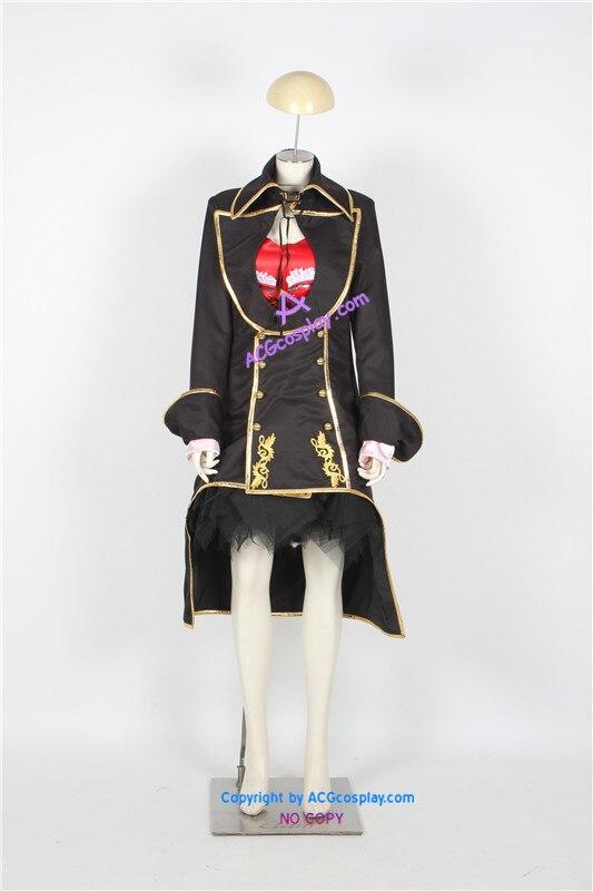 Vocaloid Meiko Sakine Cosplay traje