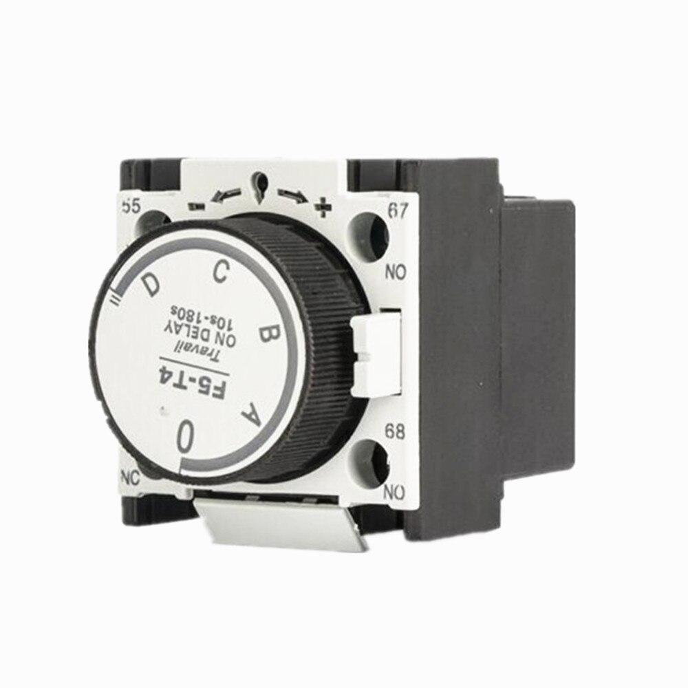 LA2 DT2 F5-T2 T0 T4 F5-D2 D0 D4 660V 10A 1NO 1NC en relé de retardo de bloque auxiliar de contactos 0,1-3 s/0,1-30 s/0,1-180 s
