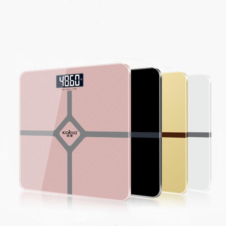 Специальное предложение, напольные весы для ванной комнаты, умные бытовые электронные весы для тела, ЖК-дисплей HD, деление на 0,2 кг-180 кг