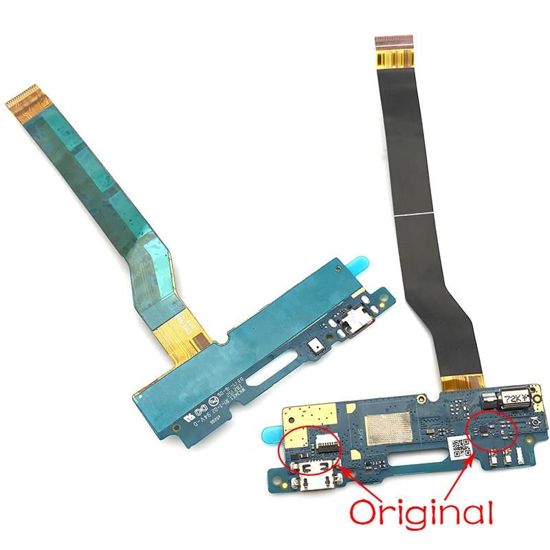 New Micro Dock Connector Board For Asus Zenfone 3 MAX ZC520TL USB Charger Plug Ribbon Flex Cable Repair Parts