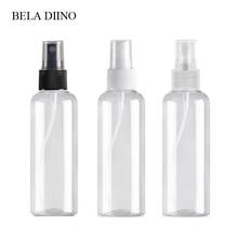 5 pièces Fine brume en plastique pour animaux de compagnie vaporisateur bouteille 100ml voyage cosmétique bouteilles ensemble maquillage liquide conteneur rechargeable parfum atomiseur