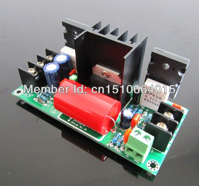 diy kit hifi mono amplifier  adjustable class a  tda7294 push the discrete tube  2sc5200 2sa1943 70w