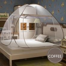 Moustiquaire pour lit simple Double adulte   Rond, Portable, pour lit baldaquin de maison, tente anti-moustiques, filet anti-moustiques, klamboe