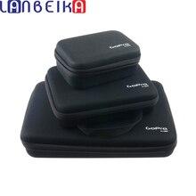 LANBEIKA dla GOPRO 3 rozmiar Nylon do przechowywania worek do zbiórki obudowa do GoPro Hero 6 5 4 3 + 3 SJCAM SJ5000 SJ360 M20 SJ6 SJ7 EKEN kamery