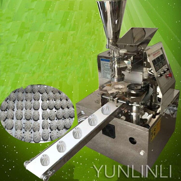 Máquina automática de bollos al vapor 2700 W máquina de fabricación de bollos al vapor con una sola tolva