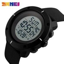 SKMEI Outdoor Sport Uhr Männer Multifunktions Chronograph 5Bar Wasserdicht Wecker Digitale Uhren reloj hombre 1213