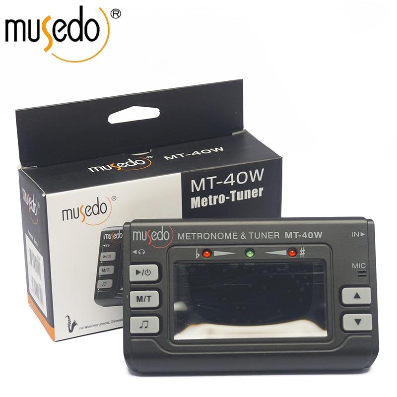 Afinador de saxofones/metrónomo/generador de tono, MT-40W, Metro-Sintonizador plus, generador de tono electrónico Digital 3 en 1 MT40W