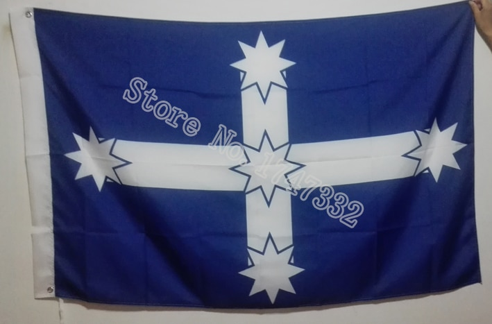 Australian Eureka Flag hot sell goods 3X5FT 150X90CM Banner brass metal holes