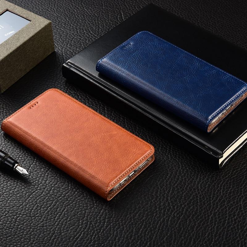 Coque ZTE Blade AF3 Axon 7 S6 FLEX Nubia magia roja, Q519T Mini Max 2017 C2016 Flip teléfono caso libro de bolsas
