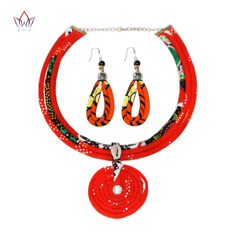 2021 комплекты ювелирных изделий в стиле бохо для женщин, свадебная мода ручной работы, красное массивное ожерелье и подвески с длинными серь...