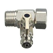 Adaptateur deau dalimentation RO robinet 1/2 à 1/4   Filtre à eau, robinet à bille, robinet de connecteur en t pour outils de quincaillerie
