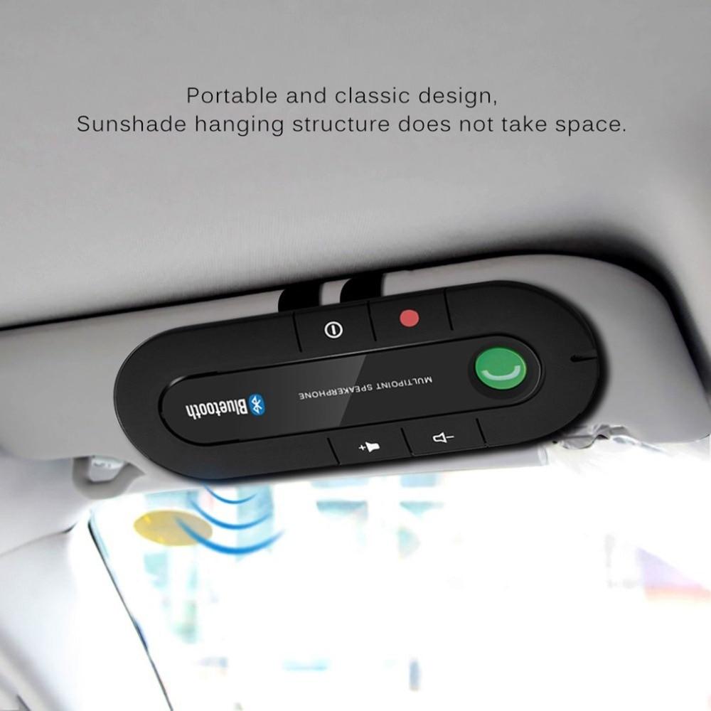 Многоточечный громкоговоритель 4,1 + EDR Беспроводной автомобильный комплект громкой связи MP3 музыкальный плеер для IPhone Android Прямая поставка