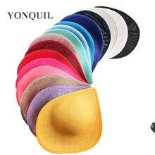 2020 새로운 도착 여러 색상 30 cm 더비 머리 모자 매혹 기 기본 웨딩 파티 교회 연회 헤어 액세서리 5 개/몫 SYB05