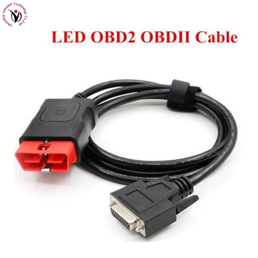 Calidad + Multi-diag Cables OBD2 de diagnóstico OBD OBDII OBD 2 Cable de conexión para Multidiag Pro + nuevo Vci VD TCS CDP PRO Plus