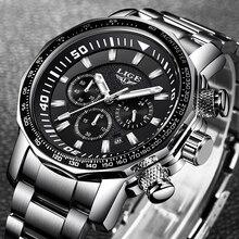Uhren Hombre 2020 LIGE Mode Herren Uhren Top Brand Luxus 24 Stunde Datum Business Quarzuhr Männer Wasserdichte Große Zifferblatt uhr