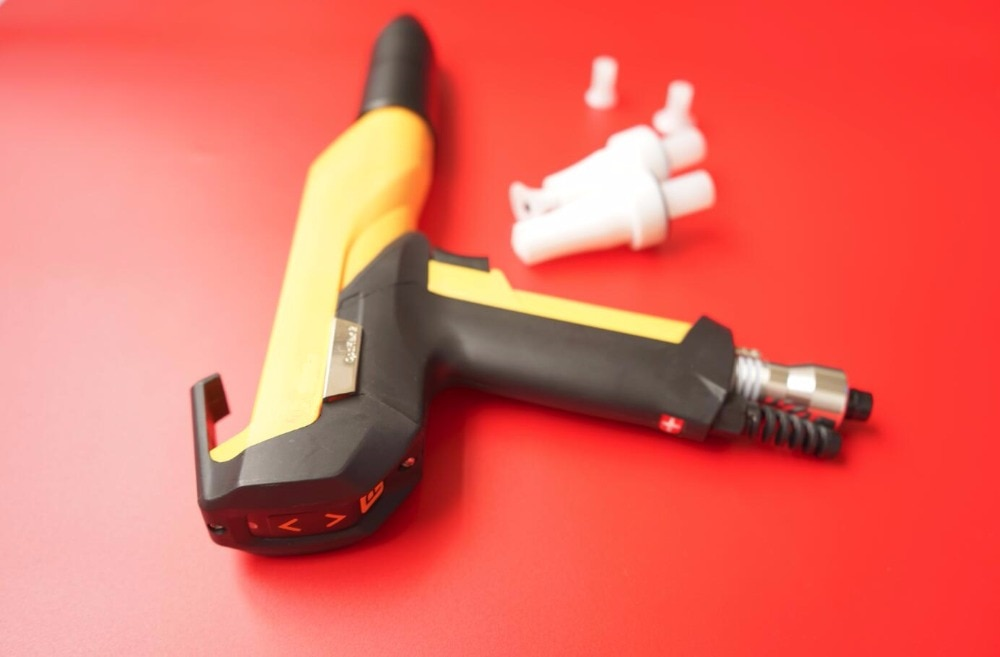 optiflex 2 aftermarket manual electrostatic powder spray gun shell for GEMA GM03 with nozzle for coating machine high quality