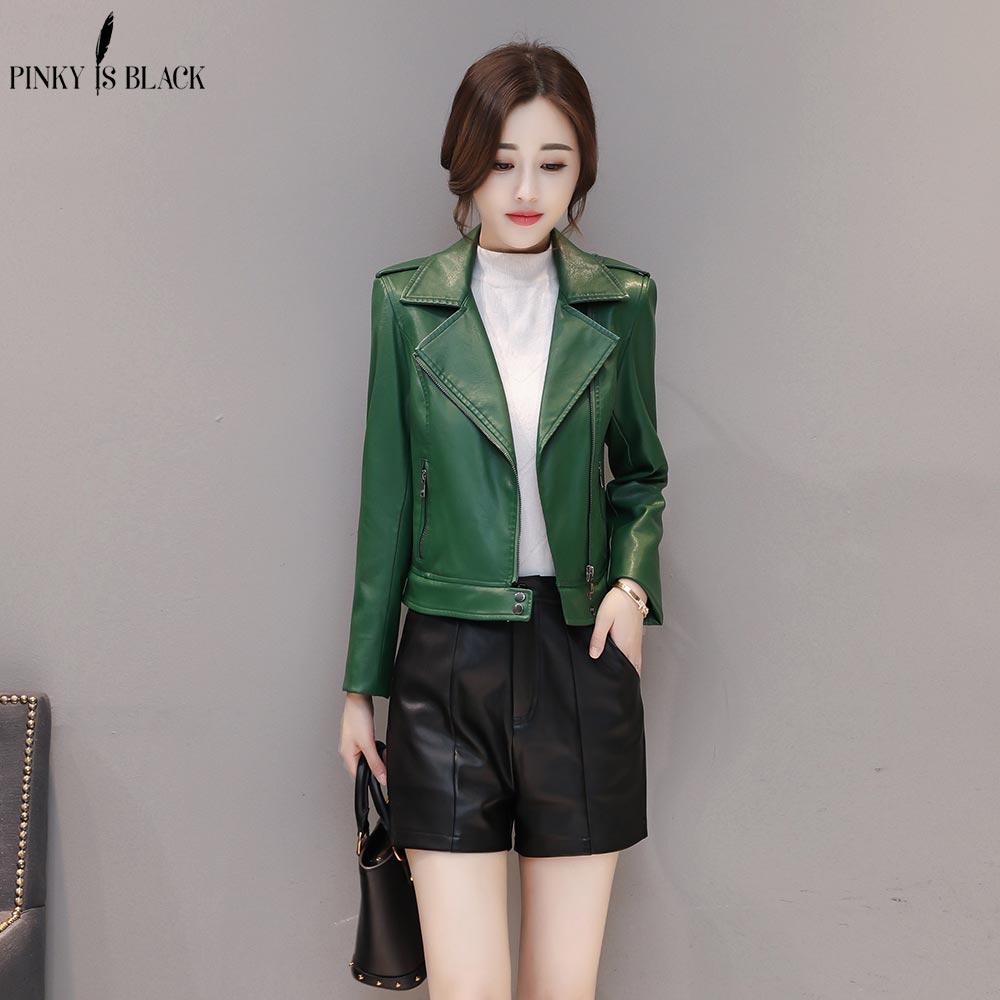 PinkyIsBlack 2019 Fashion X-Long AutumnLeather Jacket Women Winter Plus Size 4XL Detachable Faux Leather Coat Female Windbreaker enlarge