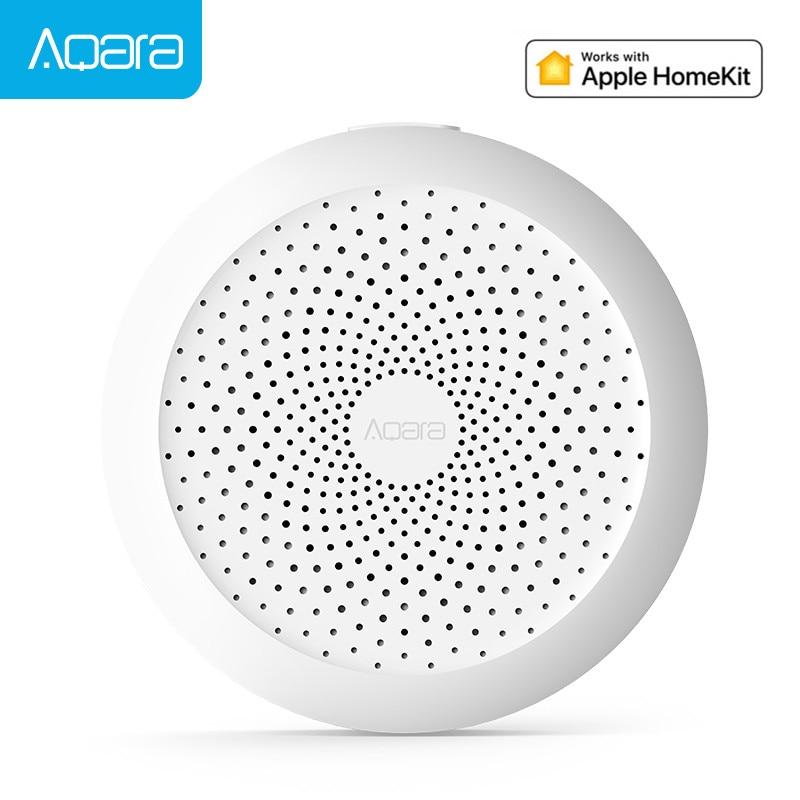New Original Aqara Hub Gateway with RGB Led night light Smart work with For Apple Homekit aqara smar