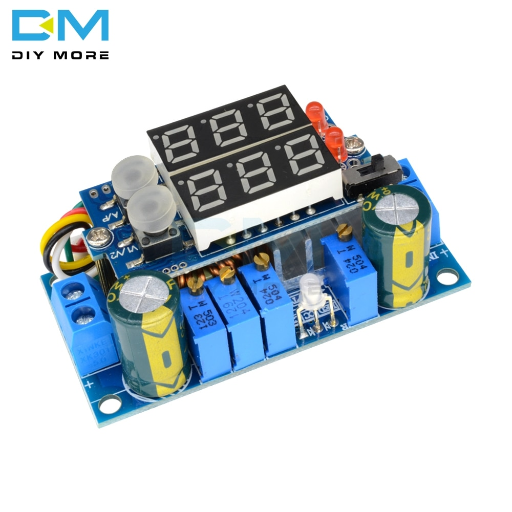 5A MPPT Solar Panel Controller Module DC-DC Step-down CC/CV Charging Module Display LED Regulator Controllers