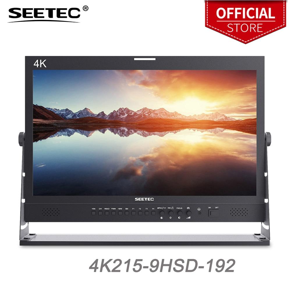 Seetec 4K215-9HSD-192 21.5 Inch IPS 1920x1080 3G-SDI 4K HDMI Pro Broadcast Monitor Full HD LCD Monitor Desktop