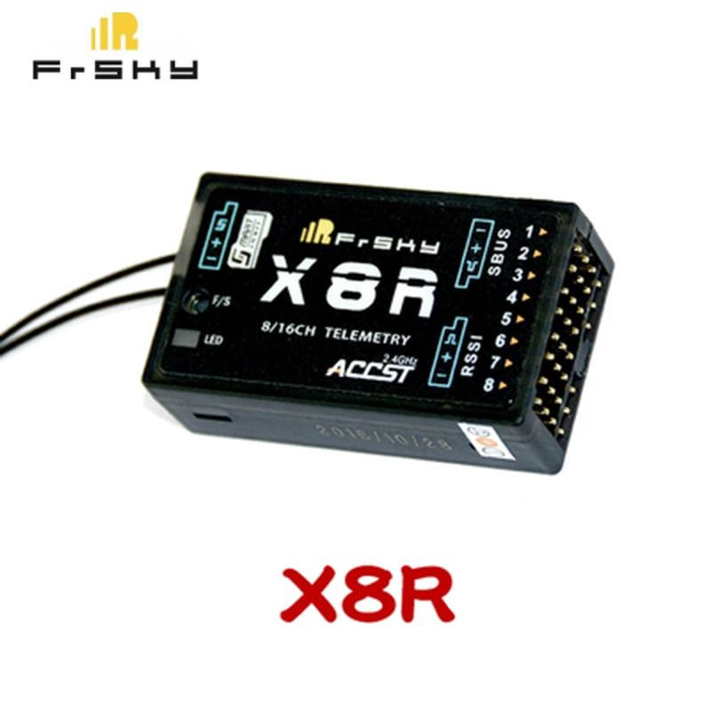 FrSky X8R 2.4Ghz 8/16Ch S.BUS Smart Port Telemetry Receiver for Taranis  FrSky R-XSR  Receiver