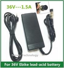36V 1.5A Scooter Battery Charger for Razor Mini Pocket, Boreem Jia 601-S 602-D, Minimoto Maxii ATV,  Go Kart, Jeep, Dune Buggy