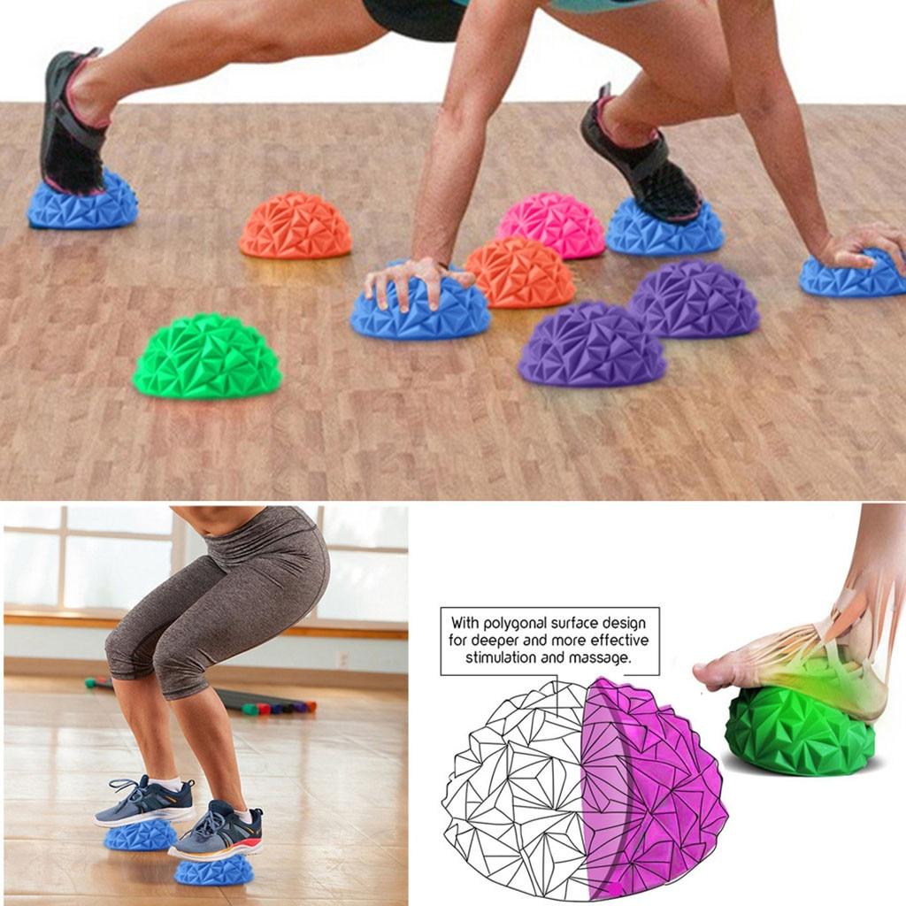 Masajeador profesional con bola de masaje de PVC para aliviar el estrés en los pies