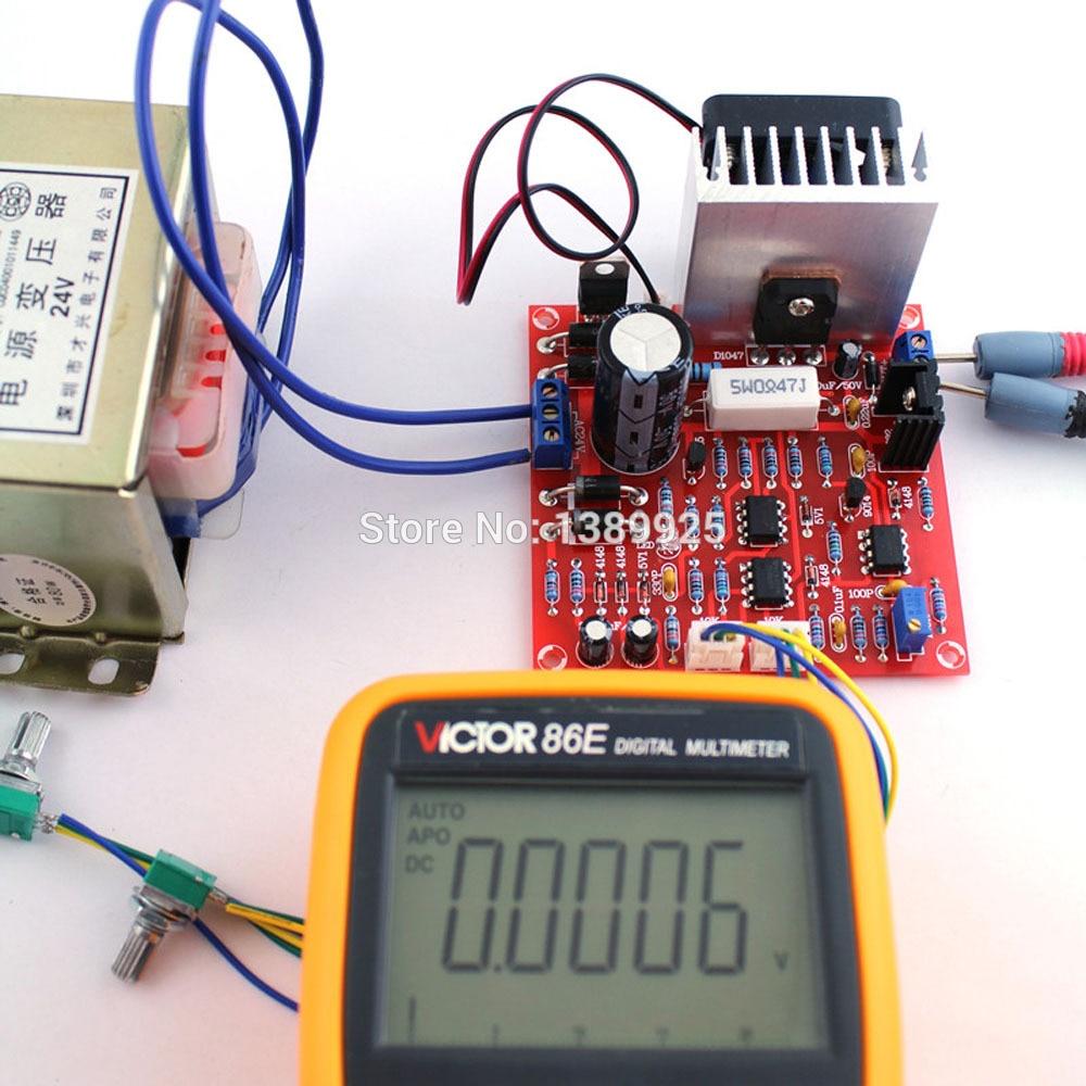 Регулируемый источник питания постоянного тока 3 в 1, 0-30 в, 2 мА-3 А, комплект для самостоятельного изготовления, радиатор, алюминиевый радиато...