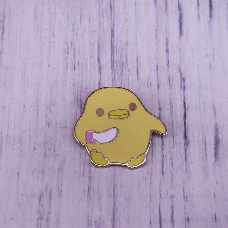 Weeby Knife Duck Enamel Pin