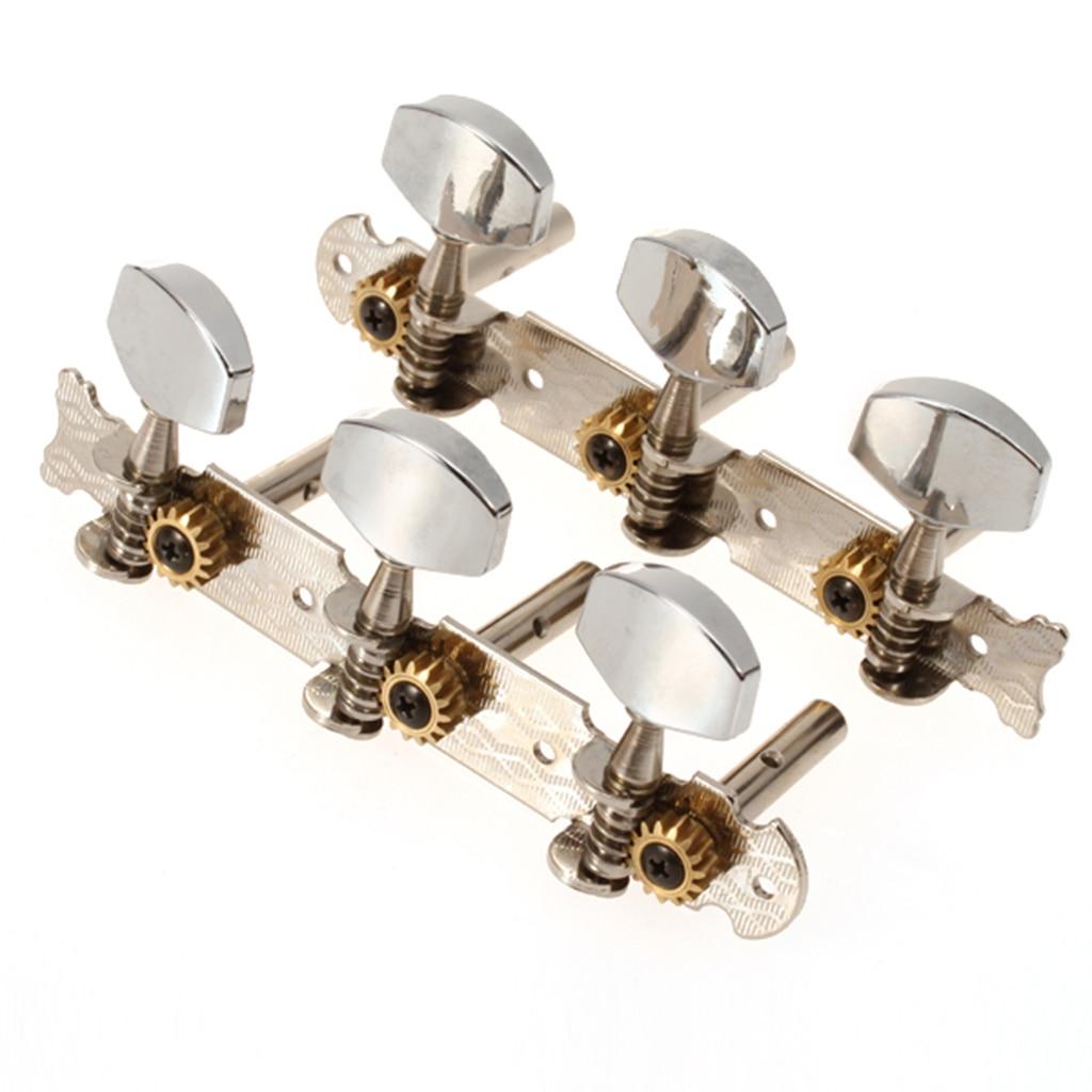 Duradera aleación de zinc, clásica guitarra clavijas de afinación cabezas de máquina...