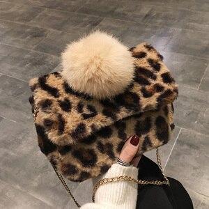 Yuhua, 2020 new women handbags, fashion messenger bag, trend Korean version shoulder bag, simple leopard print woman bag