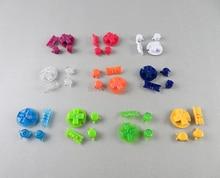 OCGAME 10 ensembles/lot boutons de mise sous tension en plastique claviers pour Gameboy couleur GBC boutons colorés pour GBC D Pads A B boutons