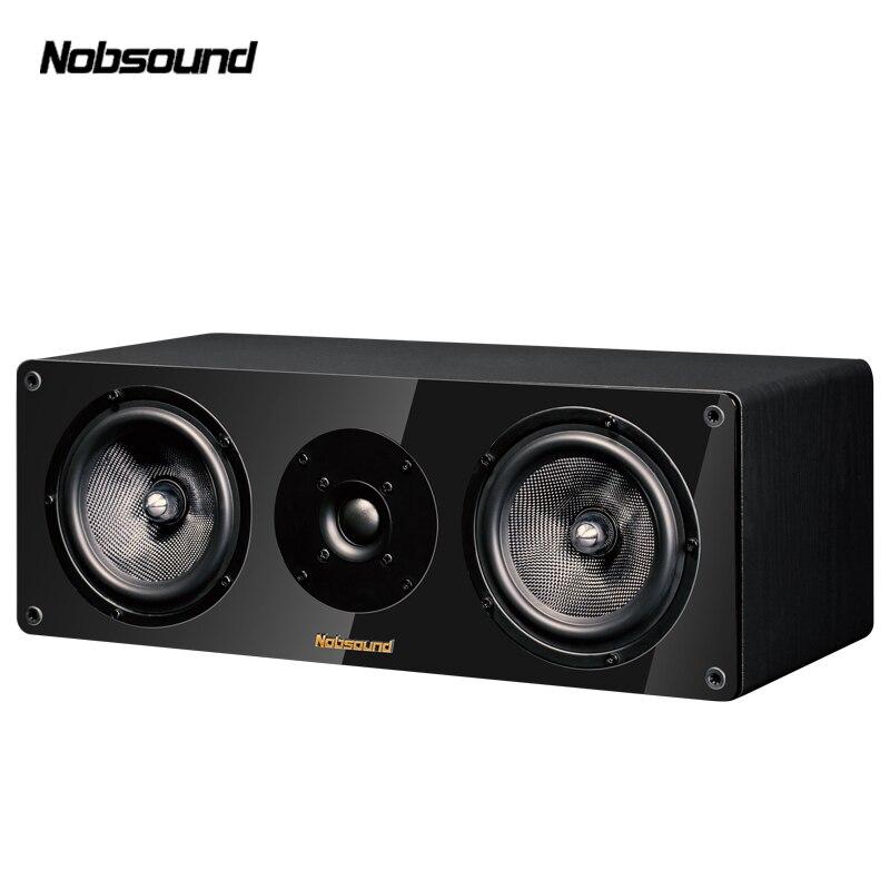 Nobsound NS-1900C altavoces portátiles de madera 120W 5,5 pulgadas HiFi columna sonido Home Altavoz profesional
