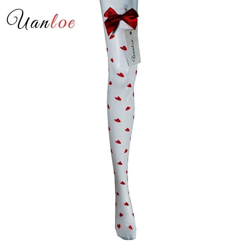 Medias de mujer transparentes negras blancas medias femeninas de encaje con lazo medias de moda estiradas medias altas sobre la rodilla medias Sexy