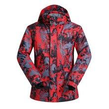 MUTUSNOW Brand Men Ski Jacket Snowboard Jacket Windproof Waterproof Outdoor Sport Wear Skiing Super Warm Clothing Male Coat New