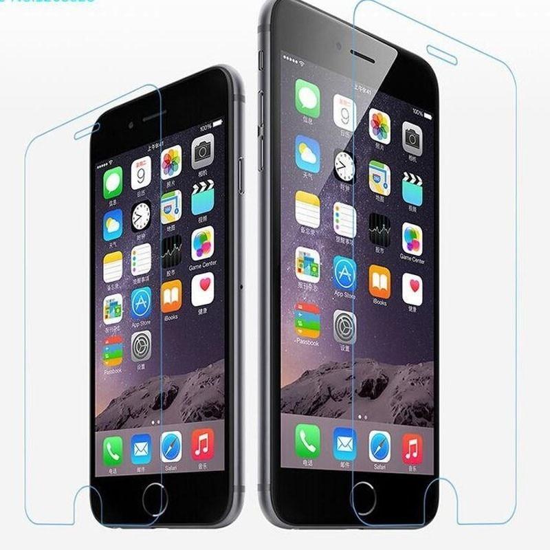 Vidrio Templado 2.5D para iphone 6 6S X vidrio protector de pantalla para iPhone 5s 6 6plus 7plus 8 película protectora