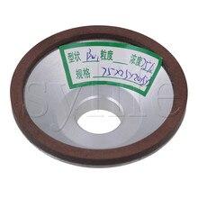 75mm OD Kom Vorm Diamant Slijpschijf 180 Granulariteit 75% Concentratie