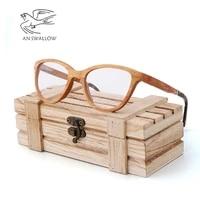 bamboo wood glasses optical frame handmade bamboo wood frame bamboo brown bamboo wood slotted frame