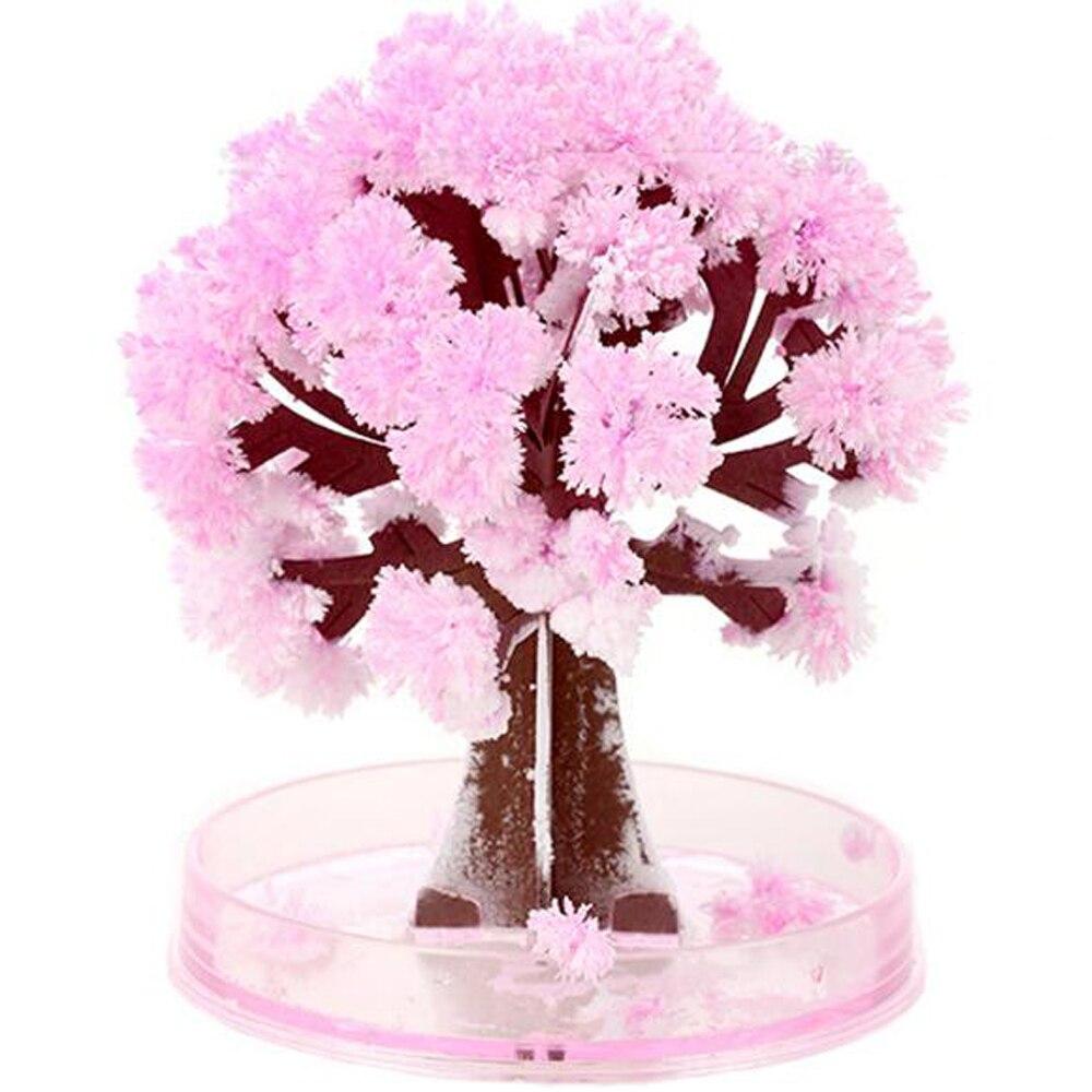 Árvore de brinquedos artificiais 90mm, árvore de papel decorativa para cultivo, diy, presente de árvore de flores, novidade, brinquedos infantis de exploração