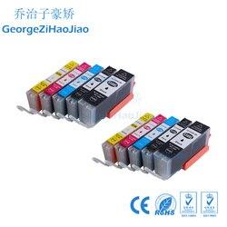 10X PCS PGI550 CLI551 cartuchos de tinta compatíveis para Canon IP7250 MG5450 MX925 MG5550 MG6450 MG5650 MG6650 IX6850 MX725 MX925
