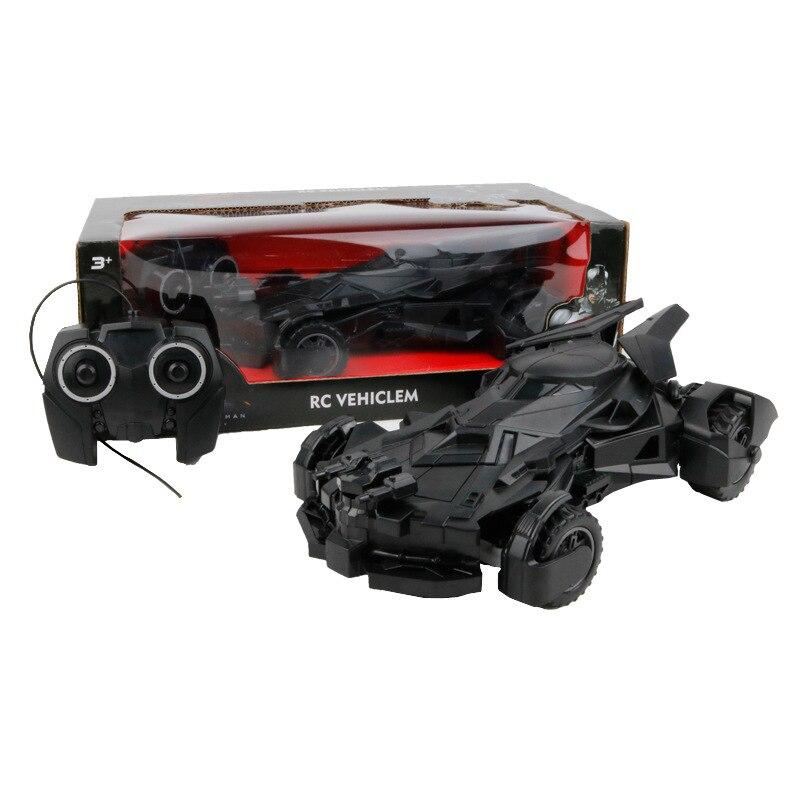 התינוק מגניב שחור באטמן מרכבת RC RC מכונית 4wd שלט רחוק מכונית צעצועים חשמליים RC ילדים מתנת ילד צעצוע ילד צעצוע המכונית רכב