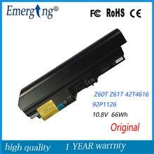 10.8 v 66wh nuovo originale batteria del computer portatile per lenovo ibm thinkpad z60t z61t 42t4616 92p1126 92p1125