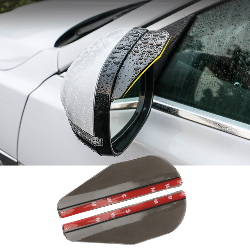 2PC espejo retrovisor para coche lluvia frente para Hyundai Solaris I30 creta IX25 Suzuki Swift SX4 Lada Vesta Granta Kalina