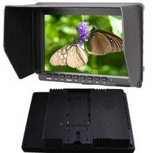 """Garanzia 1 anno nuovo magazzino di vendita calda 7 """"HDMI Video Camera 1280*800 LED IPS Monitor HD per Canon Nilkon Sony DSLR Camera Camcorder"""